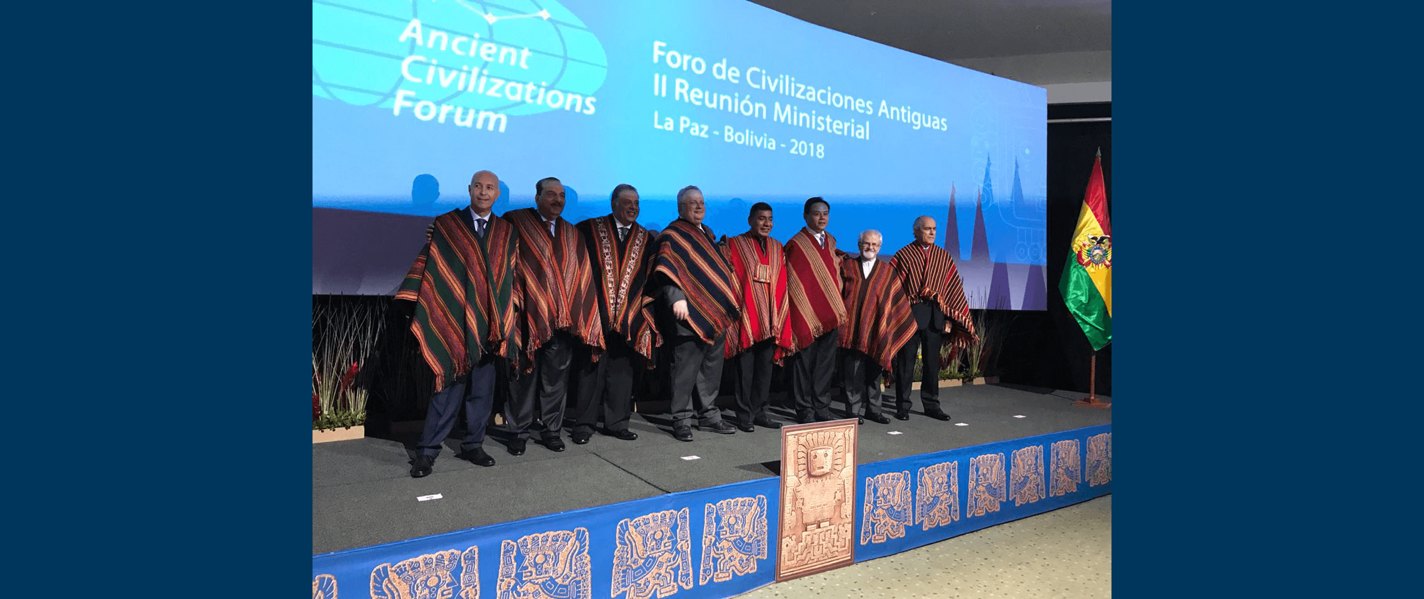 Family photo of the second ministerial meeting in La Paz, Bolivia, 2018